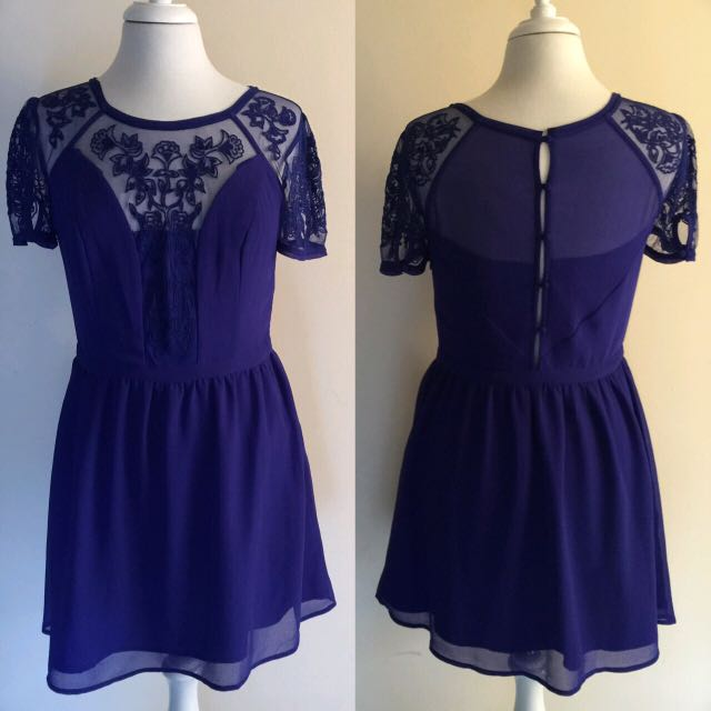 Kimchi Blue Emma Crepe Dress