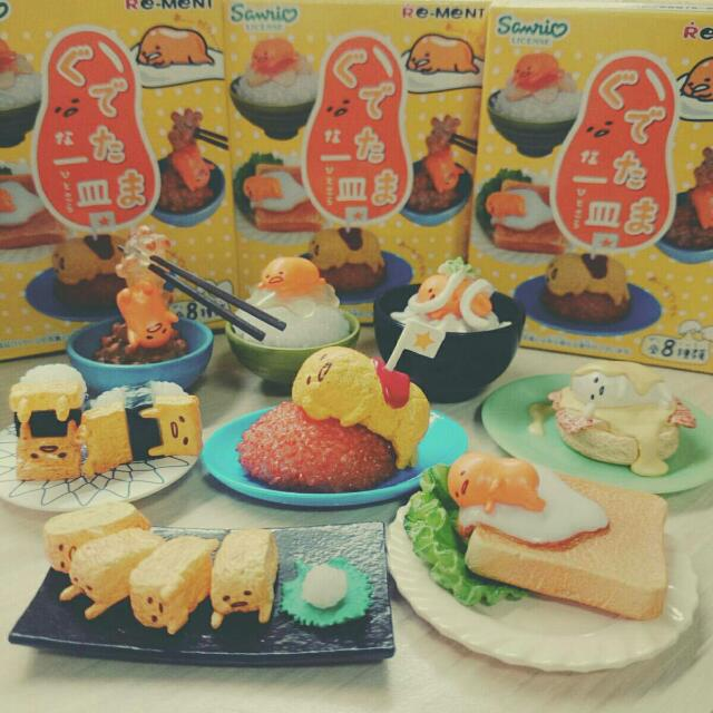 蛋黃哥食玩PART1(7款)