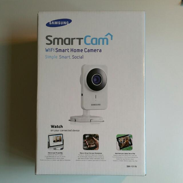 bcd640499c3 Samsung SmartCam WiFi Home Security Camera (SNH-1011N)