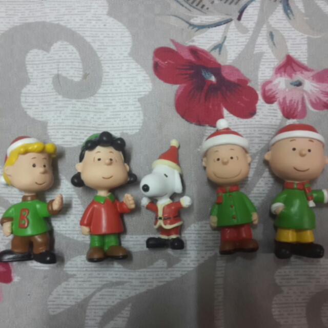 SNOOPY聖誕紙袋公仔共9款(限量絕版)含運