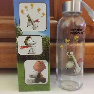 Snoopy玻璃水壺