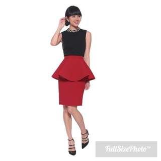 Love Bonito Sevastyn Peplum Skirt