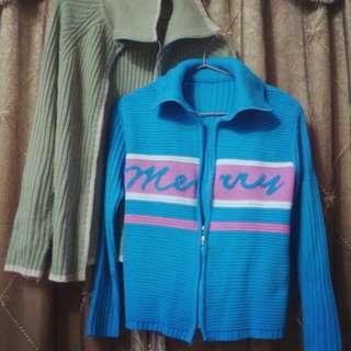針織保暖休閒外套 ❄ 兩色都賣