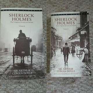 Sherlock Holmes Volumes 1&2
