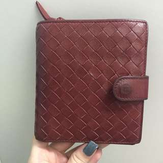 Bottega Veneta Intrecciato French Flap Wallet
