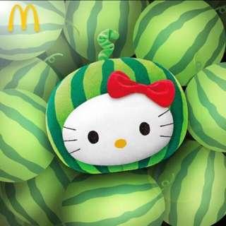 Hello kitty 西瓜