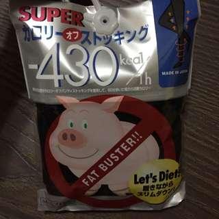 日本帶回 日本製 小豬襪 M~L -430