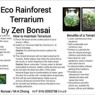 terrarium (enclosed)