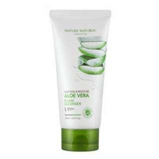 Nature Republic Aloe Vera Foam Cleanser 150m