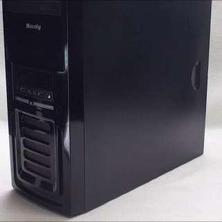 個人電腦主機 i5四核 獨顯卡王遊戲機/