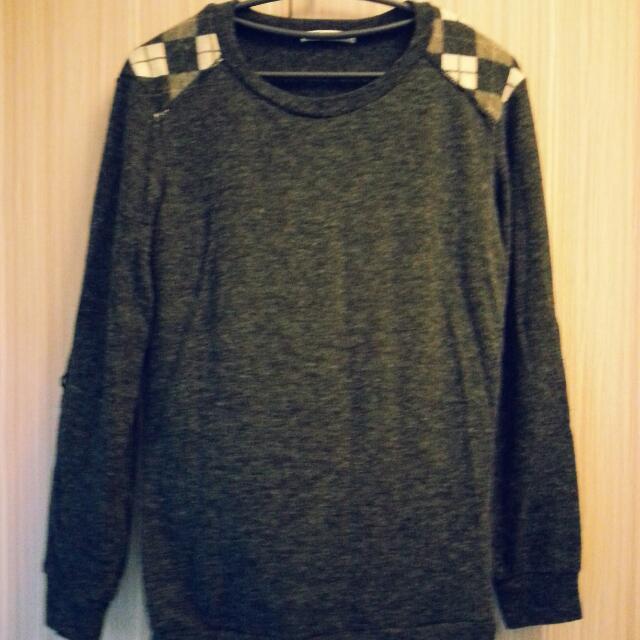 韓版毛衣(拼接風格)