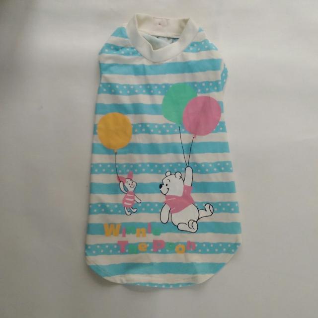 全新 PET PARADISE COOL系列維尼汽球可愛條紋T恤 狗狗衣