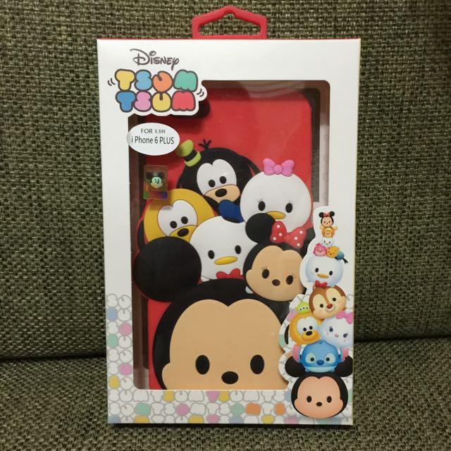 Disney授權正版商品 Tsum Tsum iphone 6 Plus i6+ 5.5吋 立體軟套