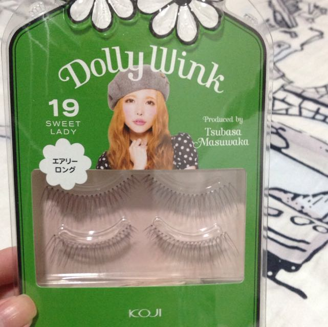 Dolly Wink Eyelashes In No.19 Sweet Lady