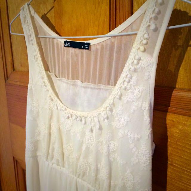 Dotti Lace Dress Size 6 XS S