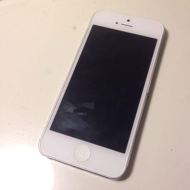 iPhone 5 白 32g