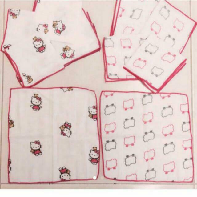 kitty竹纖維紗布手帕加購價