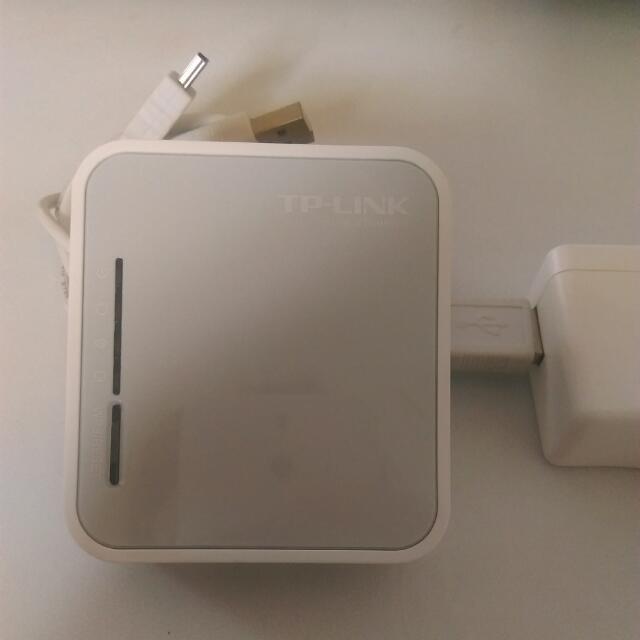 TPLINK MR3020 可攜式3G/4G無線N路由器
