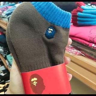 🙇🏻BAPE 猿人襪子