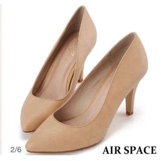 Air space 素面高跟鞋 含運(38)