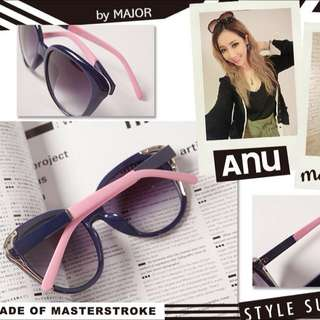 售:major全新Anu墨鏡(含盒子)