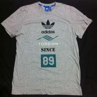 Adidas Originals-T-Shirt灰、短Tee