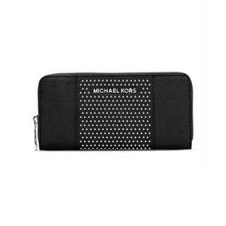 [PRICE REDUCED] MICHAEL Michael Kors Jet Set Micro-Stud Saffiano Leather Wallet