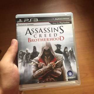 Assasin Creed Brotherhood PS3 Game