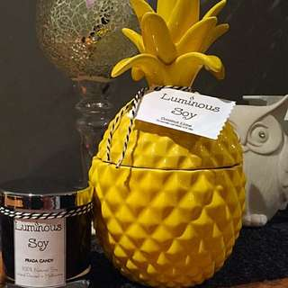 Large Size Pineapple Candle