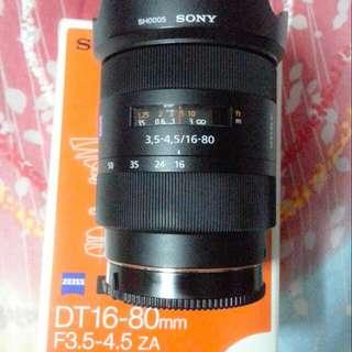 Sony SAL 16-80mm Carl Zeiss Vario Sonnar T*