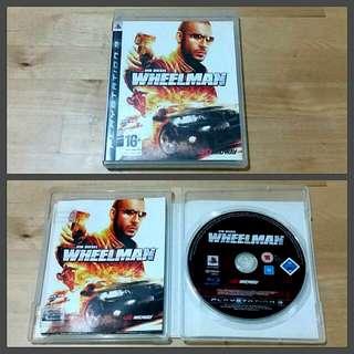 PS3 Wheelman (Vin Diesel)