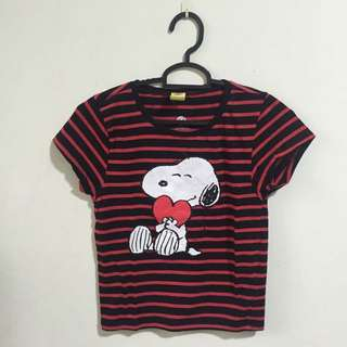 Cotton On Snoopy Crop Top