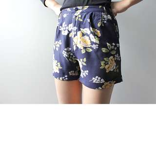 River Island Floral Summer Shorts