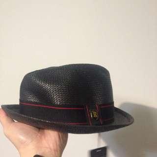 編織紳士帽 全新
