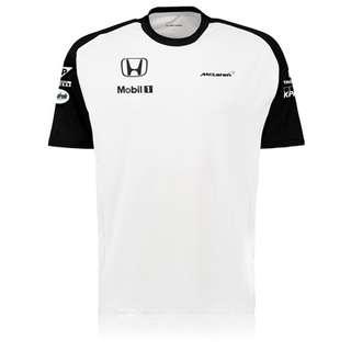 McLaren Honda Official Team T-Shirt Male White