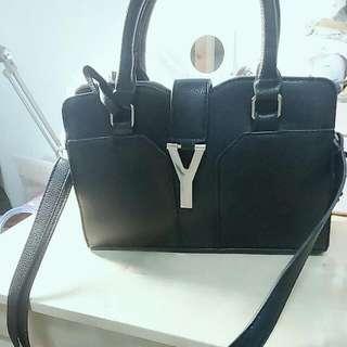 韓系 Y字側背包/手提包
