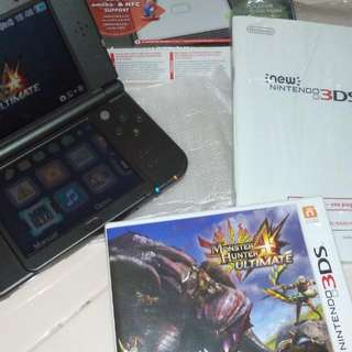 The New 3DS XL with Monster Hunter (reserved)