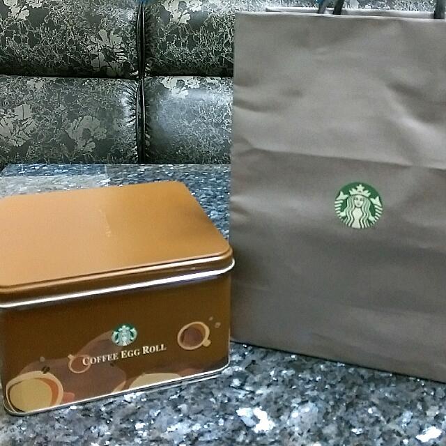 星巴克精選咖啡蛋捲禮盒(340g)
