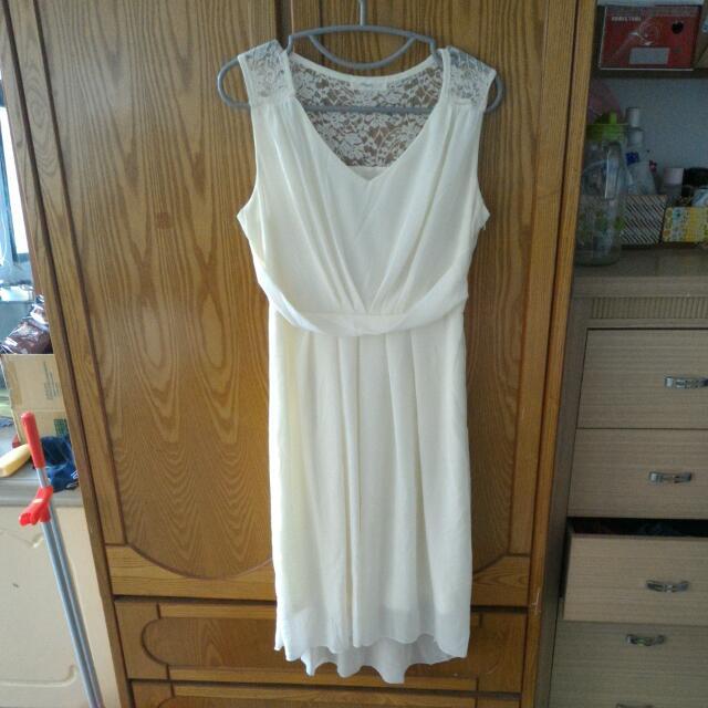 👉(降)雪紡蕾絲洋裝