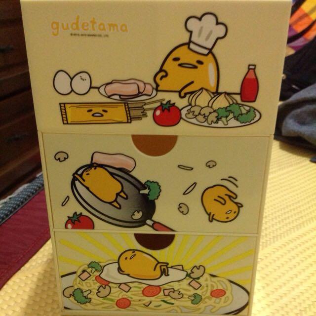 蛋黃哥收納盒