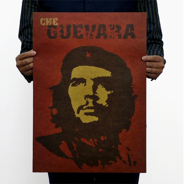 革命英雄 切格拉瓦 牛皮紙海報
