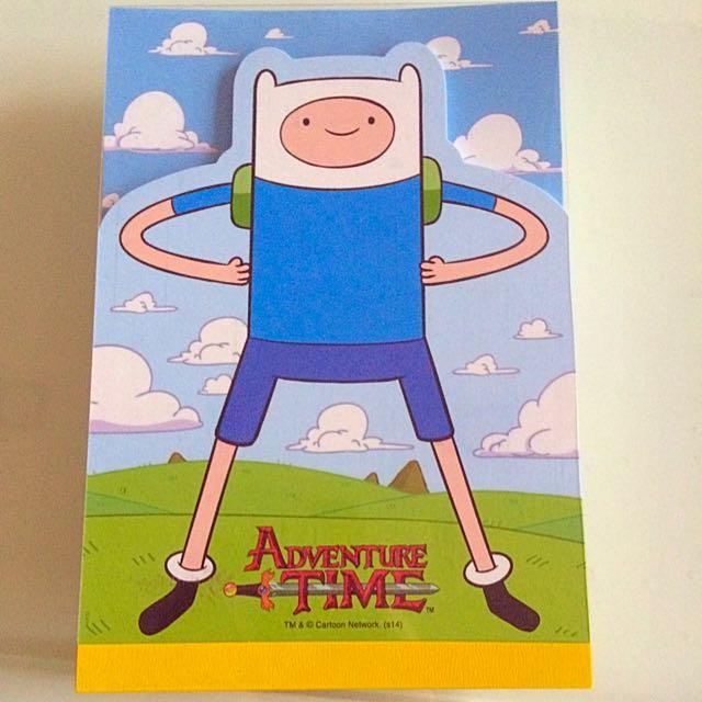 [日本製] 探險活寶 Adventure Time 便條紙