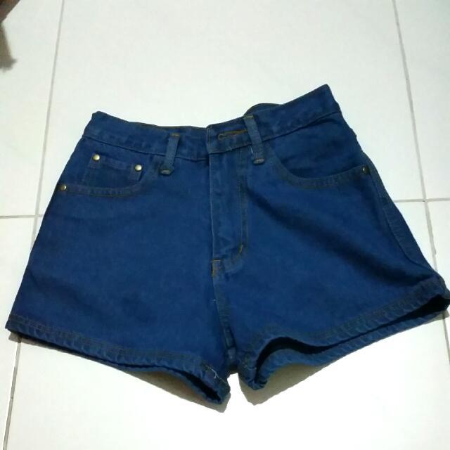 Highwaist Hw Denim Shorts