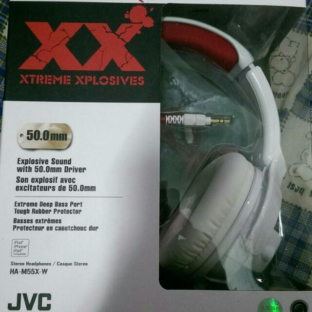 JVC HA -M55X-W 耳機