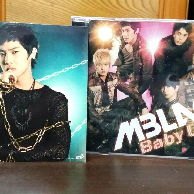 MBLAQ-第二張日文專輯 BABY U