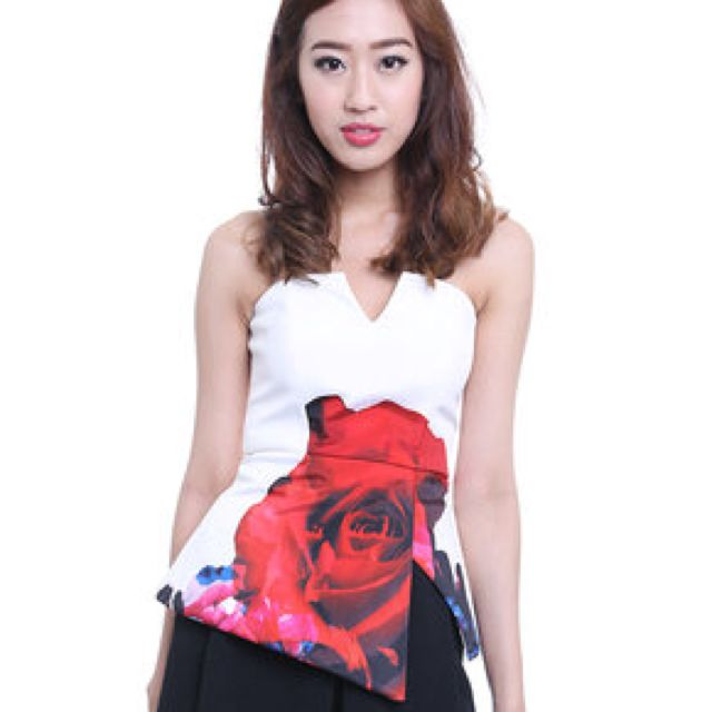 MDS Rose Top Print