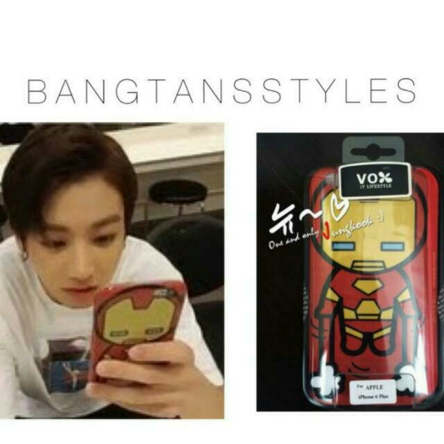 [PO] Bts PHONE CASE/COVER BTS IRON MAN Jungkook, K-Wave on