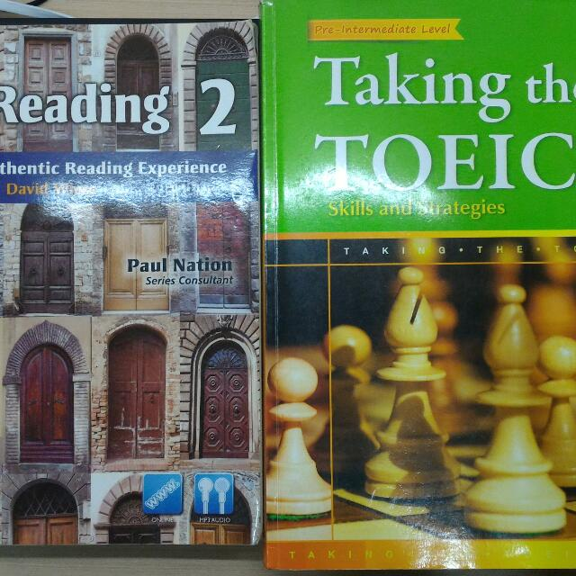 Realreading2 Taking For Toeic 1