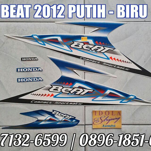 Striping Beat 2012 5 Warna