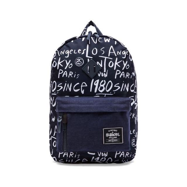 Stussy x Herschel Cities Backpack 742040fe3e049